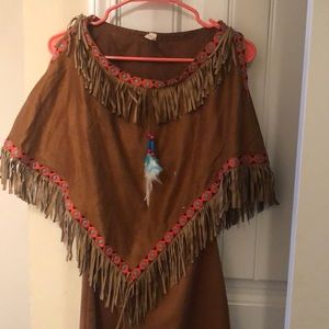 Kids large Indian costume